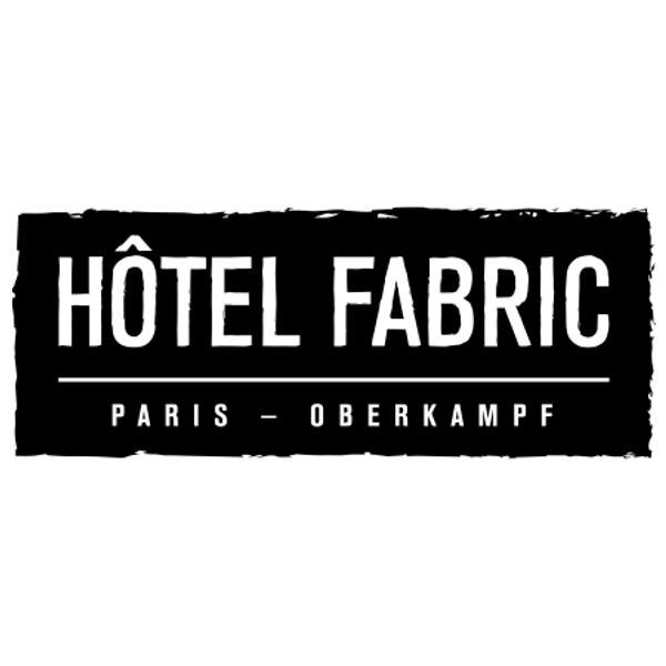 Fabric Logo - Hôtel Fabric