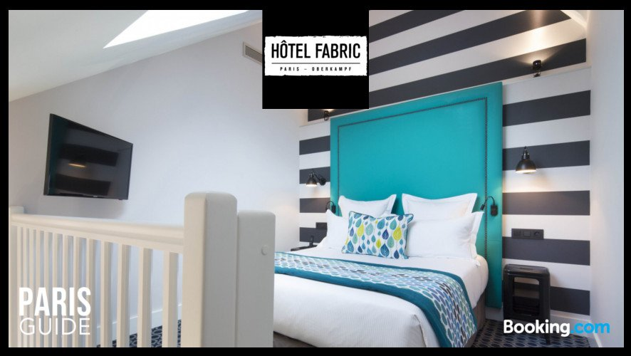Hôtel Fabric Chambre - Hôtel Fabric