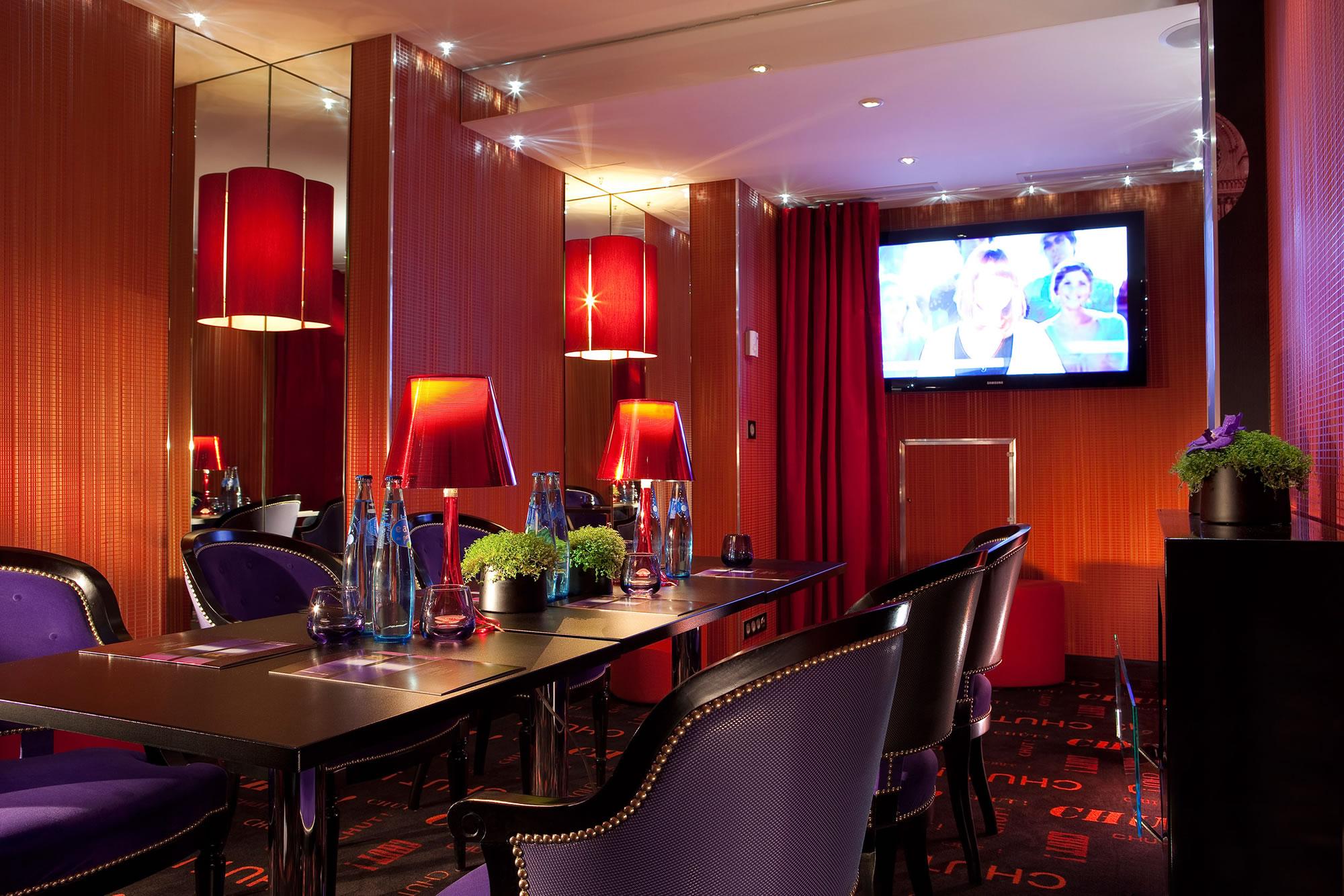 Design secret hotel paris guida di parigi for Design hotel parigi