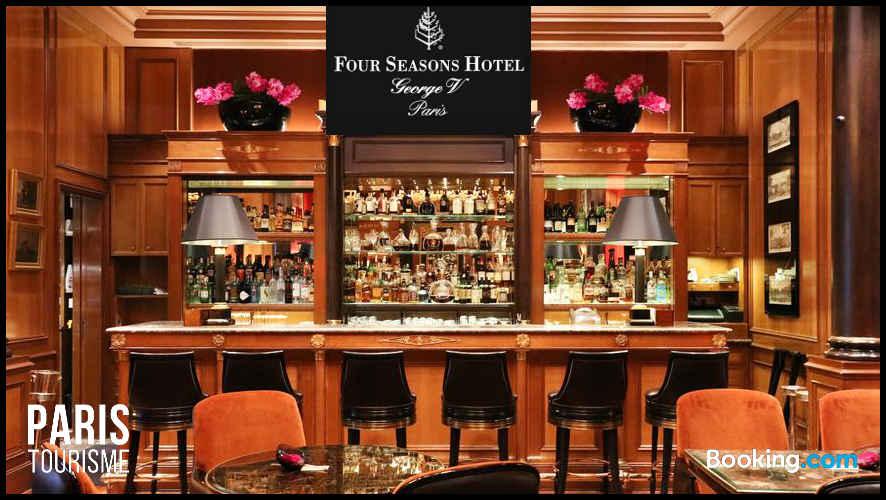 Bar de luxe, Hôtel George 5 à Paris