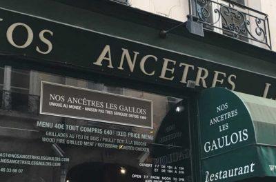 Restaurant Nos Ancêtres les Gaulois