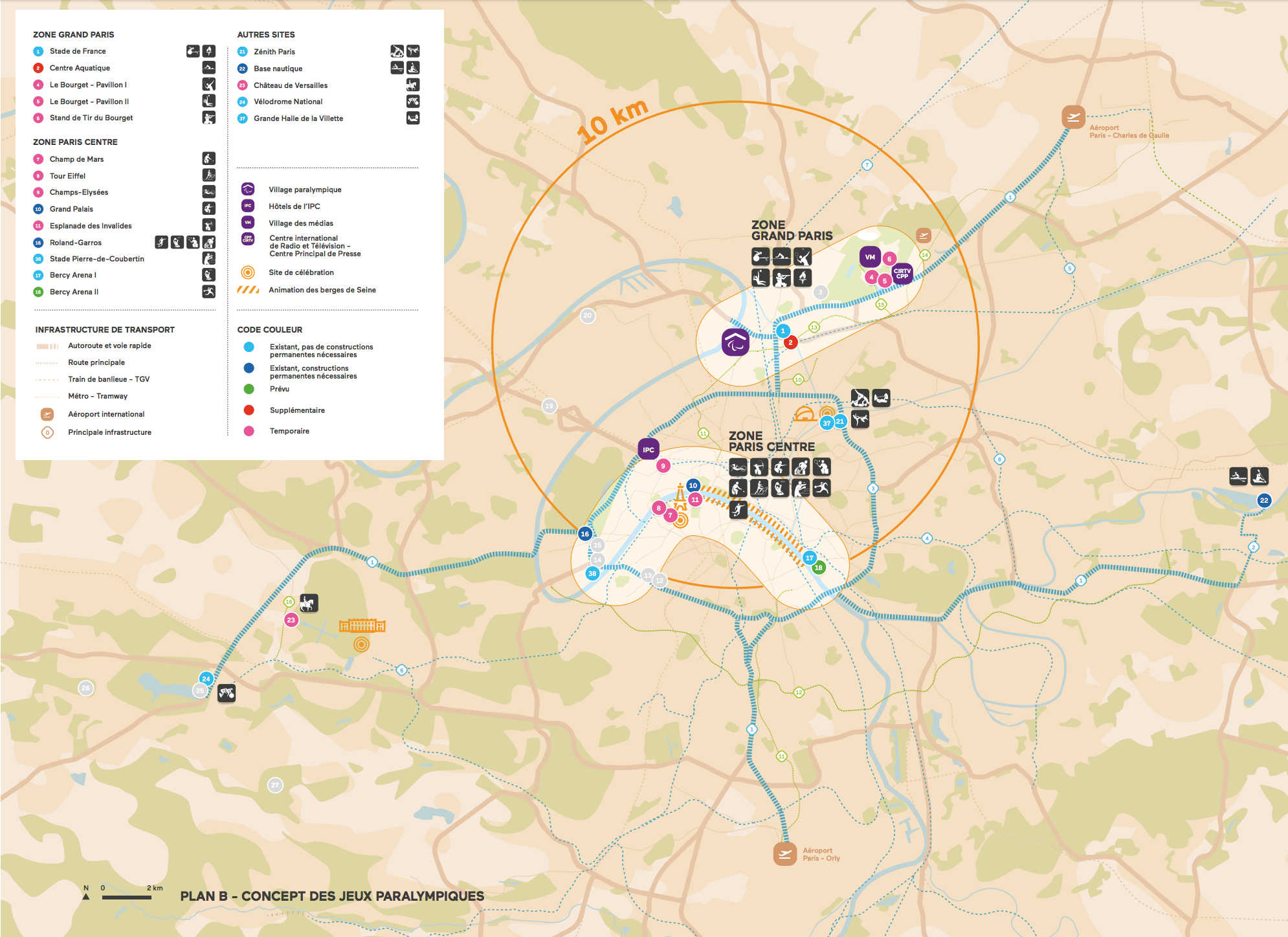Paris 2024 - Jeux Paralympiques