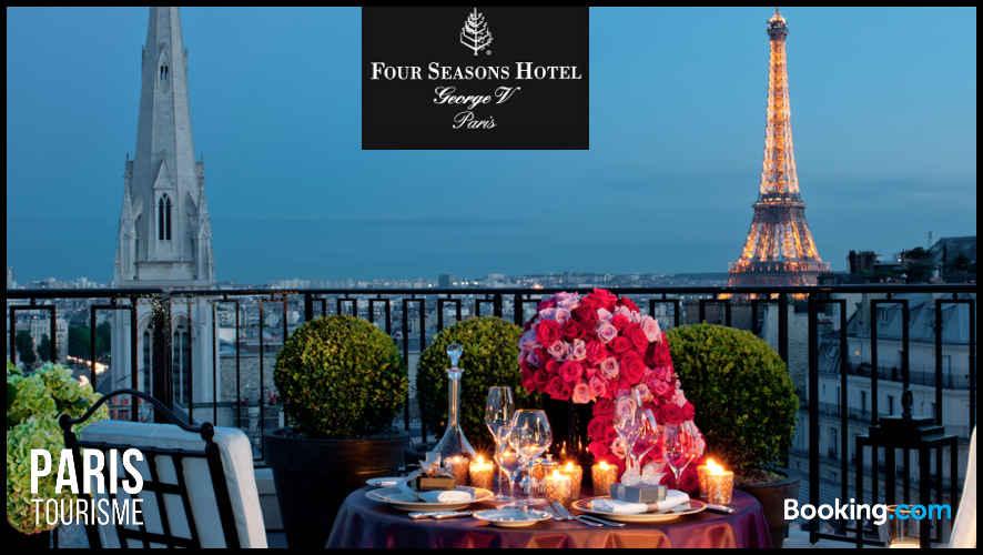 Luxe à Paris : réserver hôtel George 5