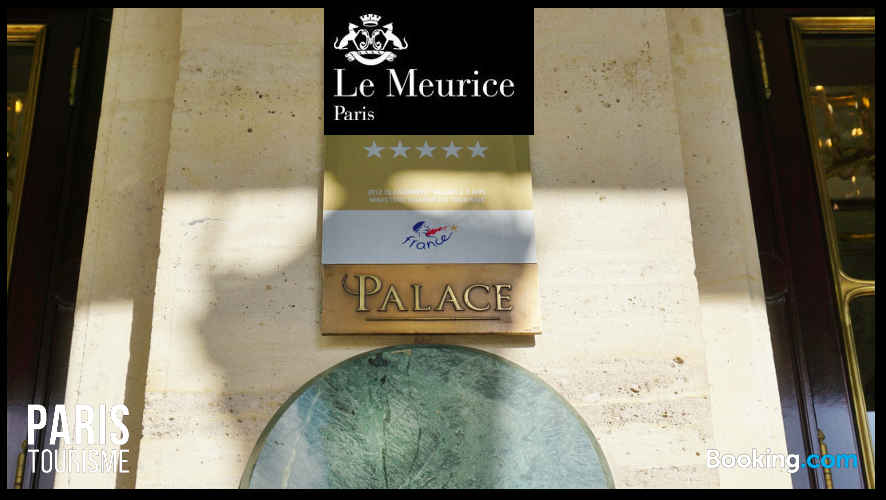 Hotel Meurice : Palace 5 étoiles à Paris