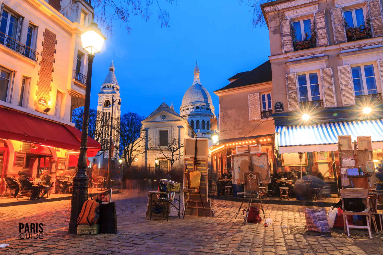 Montmartre : image du quartier de Montmartre