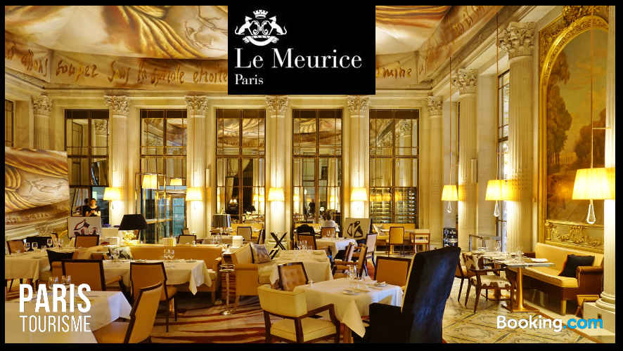 Photo du restaurant de l'hôtel Meurice